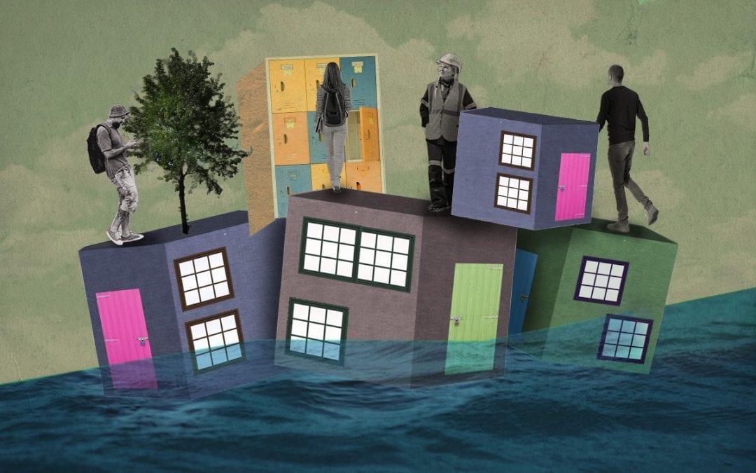 De drijvende stad overstroomt niet