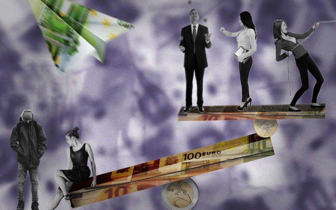 De rijken helpen de rijken
