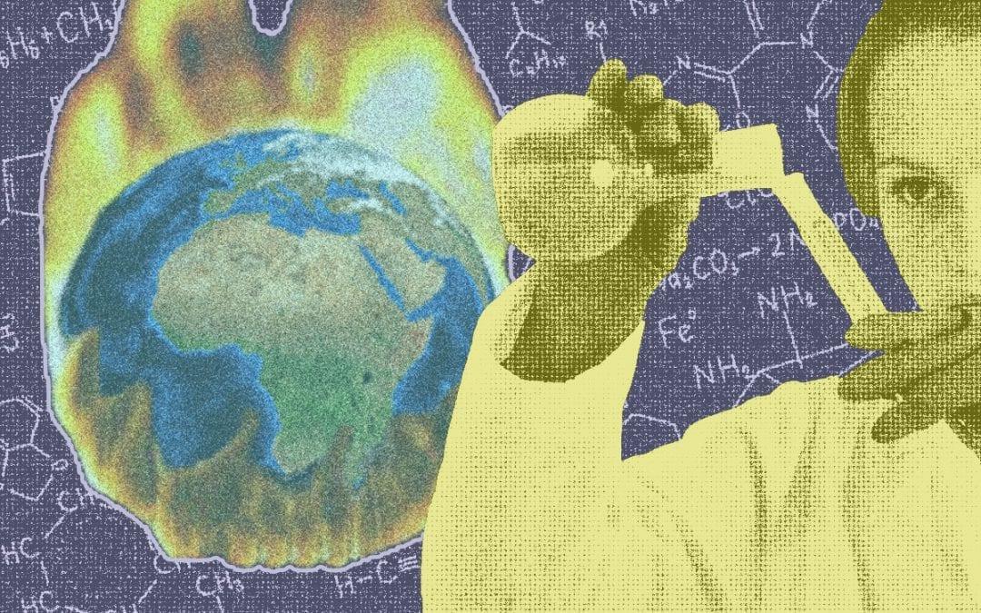 Klimaatverandering is simpele scheikunde