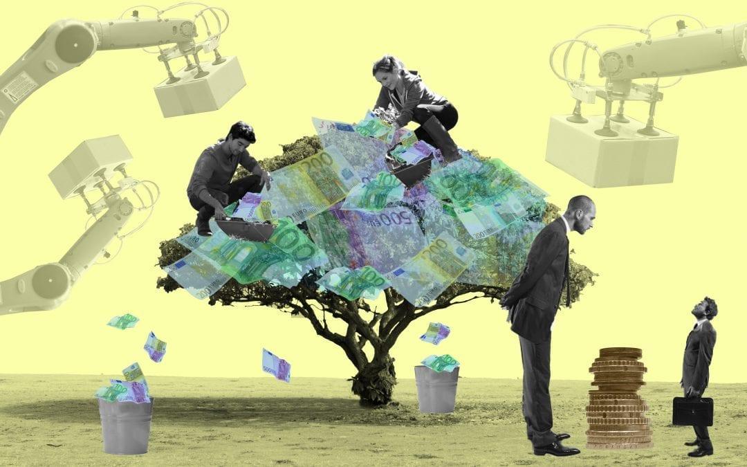 Vervang minimumloon door basisinkomen