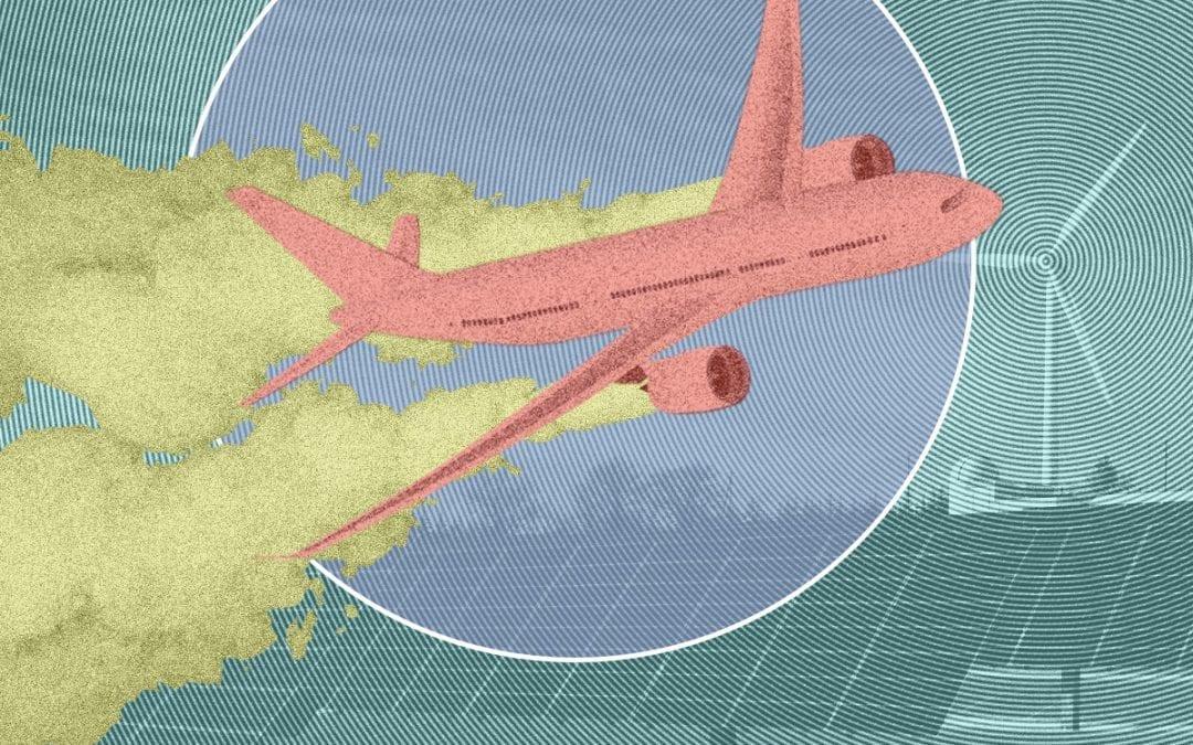 Zo vervuilend is vliegen