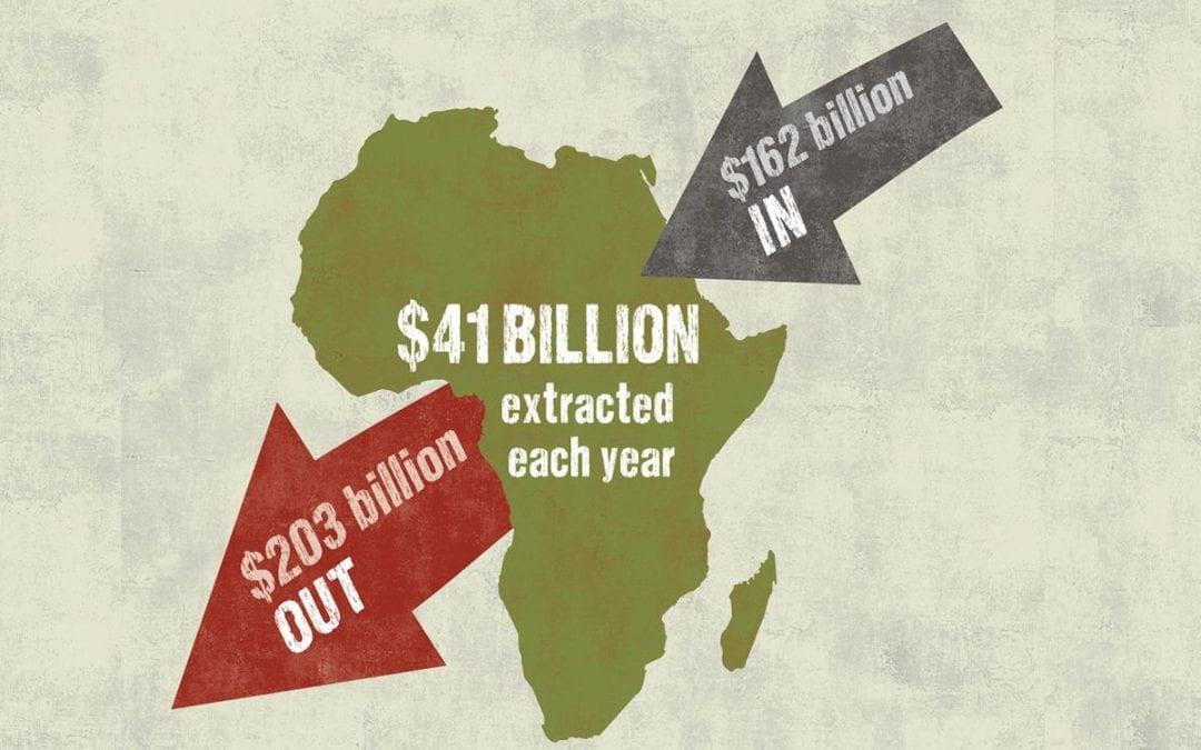 Het Westen steelt Afrika arm