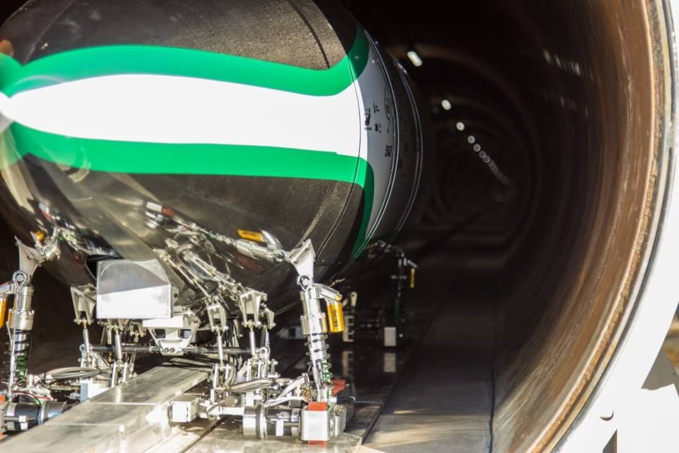 De volgende halte voor de Hyperloop