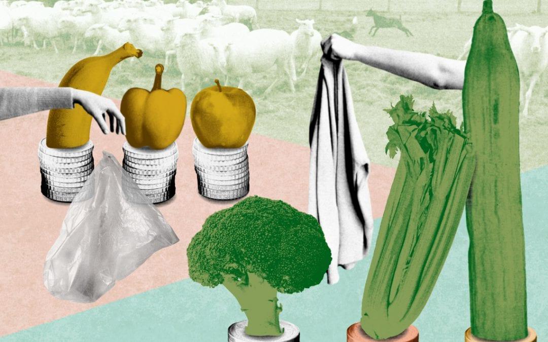 Naakte groente maakt winst