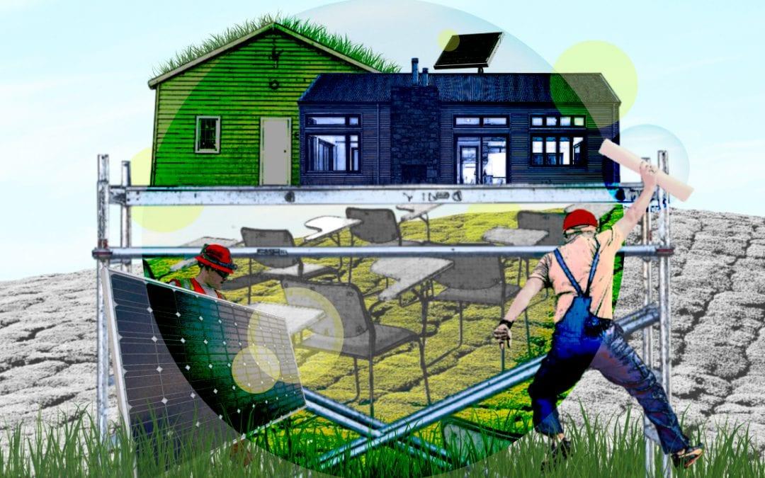 Wie bouwt de huizen van de toekomst?