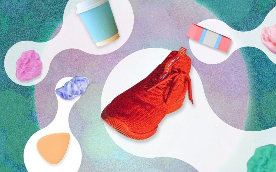 Van kauwgom schoenen maken: het kan