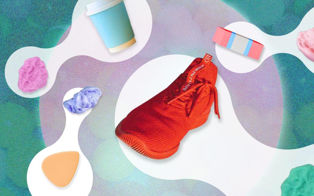 Hoe je van kauwgom schoenen kunt maken