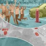 Verkoop je diesel en deel een elektrische auto met je buren