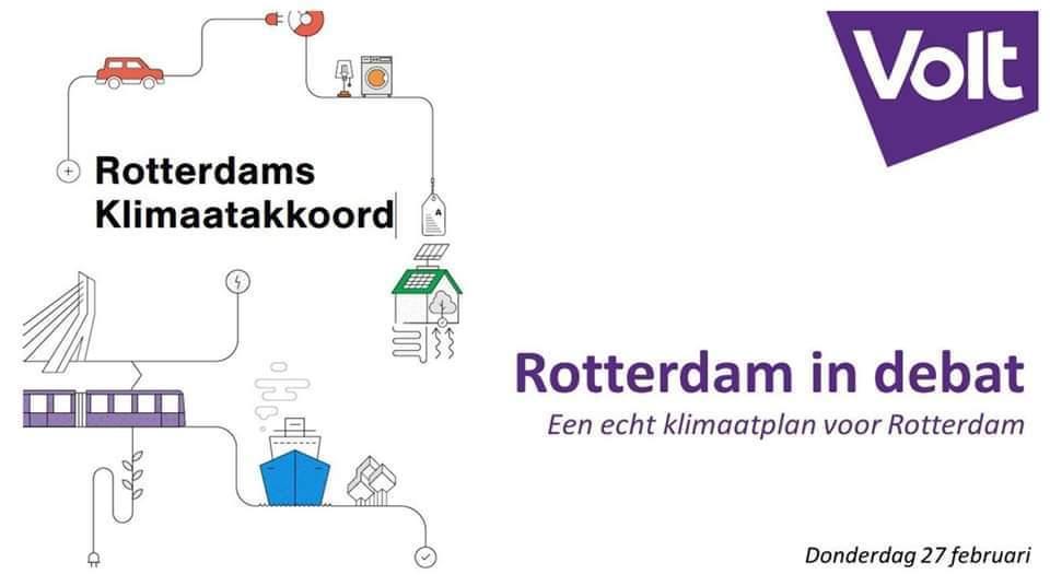 Rotterdam in Debat: een echt Klimaatplan voor Rotterdam