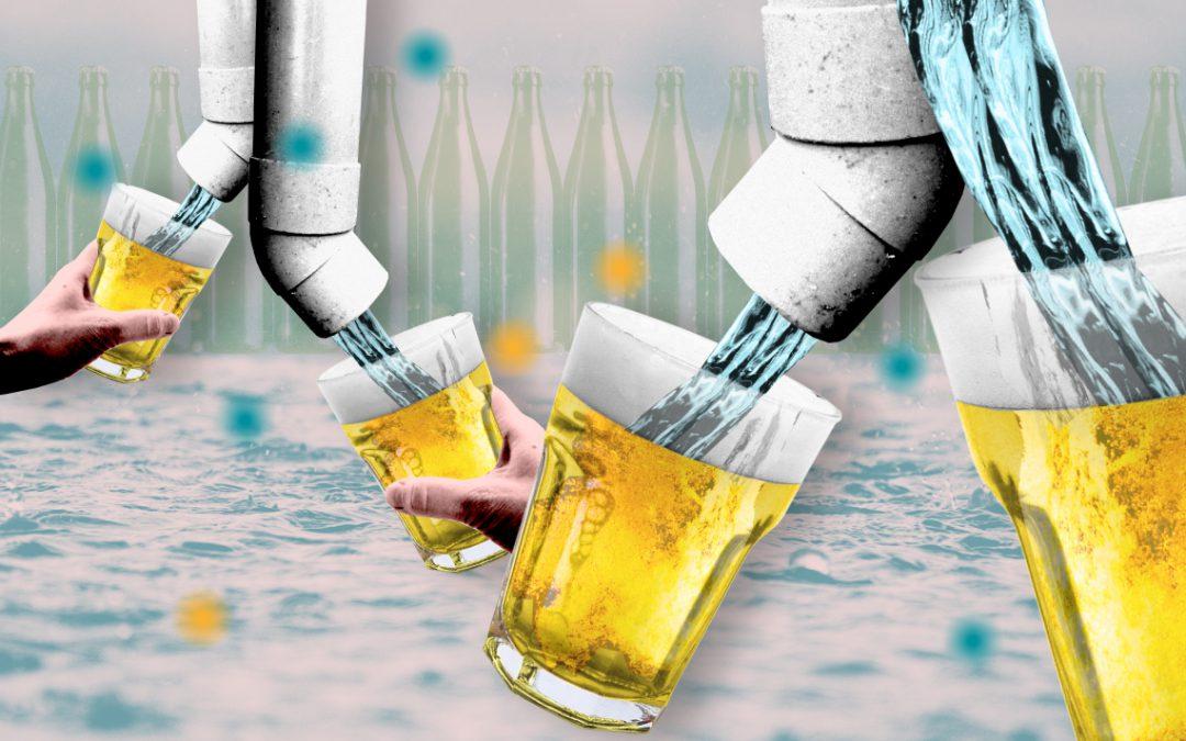 Biertjes brouwen van regenwater